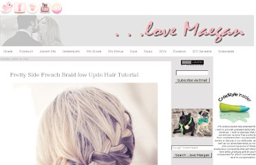 http://www.lovemaegan.com/2011/04/pretty-side-french-braid-low-updo-hair.html