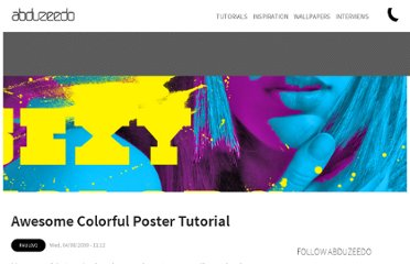 http://abduzeedo.com/awesome-colorful-posters-tutorial