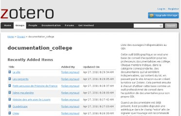 https://www.zotero.org/groups/documentation_college/