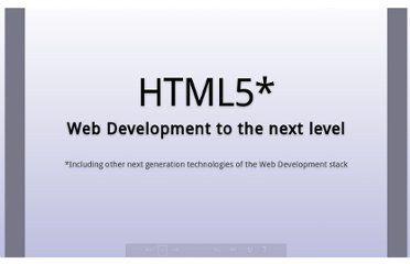 http://slides.html5rocks.com/#title-slide