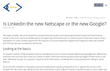 http://www.tnl.net/blog/2011/05/22/is-linkedin-the-new-netscape-or-the-new-google/