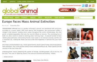http://www.globalanimal.org/2011/05/20/europe-faces-mass-animal-extinction/39752/