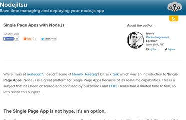 http://blog.nodejitsu.com/single-page-apps-with-nodejs