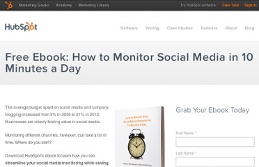 http://www.hubspot.com/social-media-monitoring-in-10-minutes-ebook/