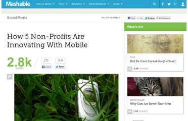 http://mashable.com/2011/05/19/non-profits-mobile/