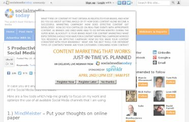 http://socialmediatoday.com/leo-widrich/298308/5-productivity-tools-busy-social-media-manager