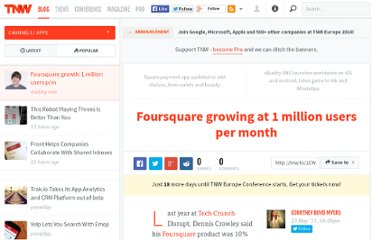 http://thenextweb.com/apps/2011/05/23/foursquare-growing-at-1-million-users-per-month/
