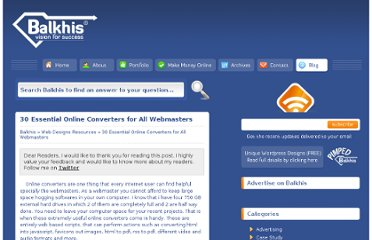 http://www.balkhis.com/web-designs-resources/30-essential-online-converters-for-all-webmasters/