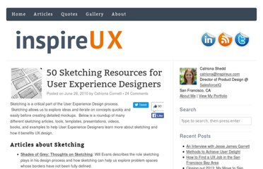 http://www.inspireux.com/2010/06/28/50-sketching-resources-for-user-experience-designers/