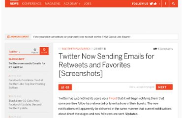 http://thenextweb.com/twitter/2011/05/23/twitter-now-sending-emails-for-retweets-and-favorites/