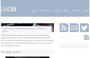 http://line25.com/tutorials/create-a-grid-based-web-design-in-html5-css3