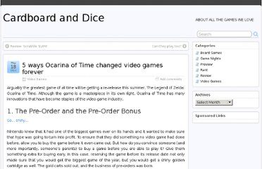 http://cardboardanddice.com/2011/05/18/5-ways-oot-changed-games/