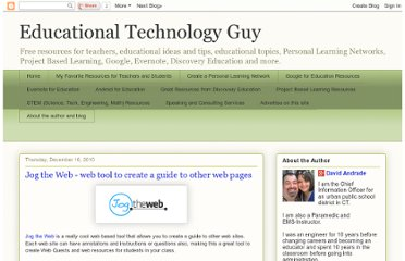 http://educationaltechnologyguy.blogspot.com/2010/12/jog-web-web-tool-to-create-guide-to.html