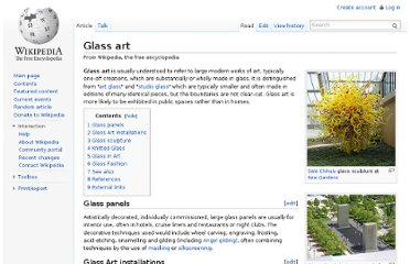 http://en.wikipedia.org/wiki/Glass_art