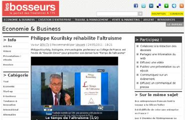 http://www.les-bosseurs.fr/tribune/economie-business/video/philippe-kourilsky-rehabilite-laltruisme
