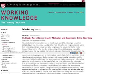 http://hbswk.hbs.edu/topics/marketing.html
