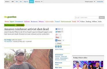 http://www.guardian.co.uk/world/2011/may/24/amazon-rainforest-activist-killed