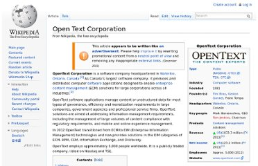 http://en.wikipedia.org/wiki/Open_Text_Corporation