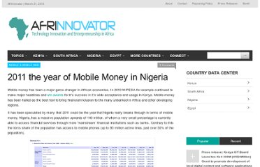 http://afrinnovator.com/blog/2011/01/06/2011-the-year-of-mobile-money-in-nigeria/