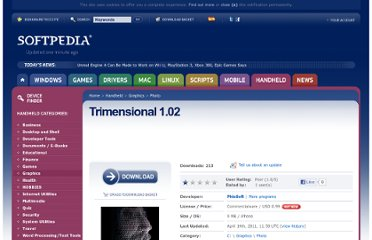 http://handheld.softpedia.com/get/Photo/Trimensional-116385.shtml