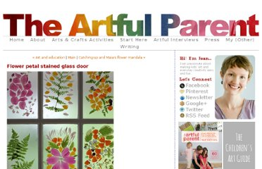 http://artfulparent.typepad.com/artfulparent/2011/05/flower-stained-glass-door.html