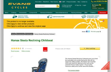 http://www.evanscycles.com/products/hamax/siesta-reclining-childseat-ec028522