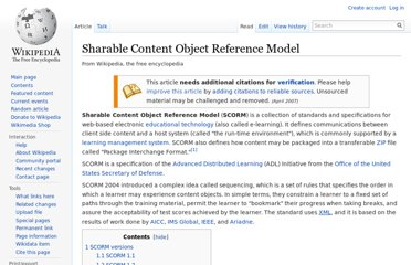 http://en.wikipedia.org/wiki/Sharable_Content_Object_Reference_Model