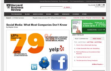 http://hbr.org/web/slideshows/social-media-what-most-companies-dont-know/1-slide