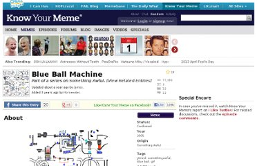 http://knowyourmeme.com/memes/blue-ball-machine#.Td2d21sfsrU