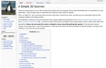 http://www.sjbaker.org/wiki/index.php?title=A_Simple_3D_Scanner
