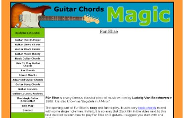 http://www.guitarchordsmagic.com/guitar-song-chords/fur-elise.html
