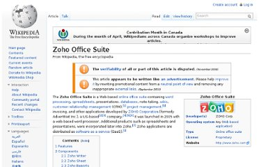 http://en.wikipedia.org/wiki/Zoho_Office_Suite