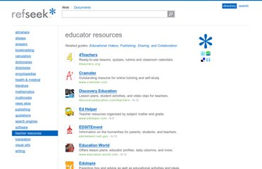 http://www.refseek.com/directory/teacher_resources.html