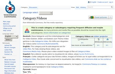 http://commons.wikimedia.org/wiki/Category:Videos