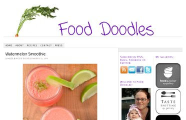 http://fooddoodles.com/2011/05/12/watermelon-smoothie/