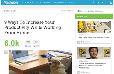 http://mashable.com/2011/05/26/work-from-home-productivity/
