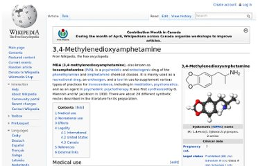 http://en.wikipedia.org/wiki/3,4-Methylenedioxyamphetamine
