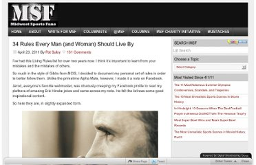 http://www.midwestsportsfans.com/2011/04/34-rules-every-man-and-woman-should-live-by/