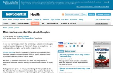 http://www.newscientist.com/article/dn20516-mindreading-scan-identifies-simple-thoughts.html
