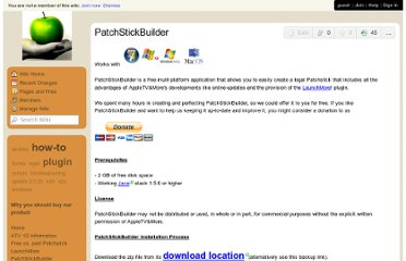 http://patchstick.wikispaces.com/PatchStickBuilder