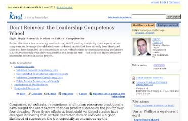 http://knol.google.com/k/don-t-reinvent-the-leadership-competency-wheel#