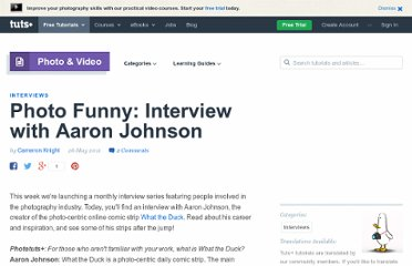 http://photo.tutsplus.com/articles/interviews/photo-funny-interview-with-aaron-johnson/