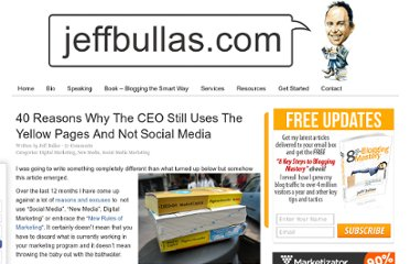 http://www.jeffbullas.com/2010/01/11/40-reasons-why-the-ceo-still-uses-the-yellow-pages-and-not-social-media/