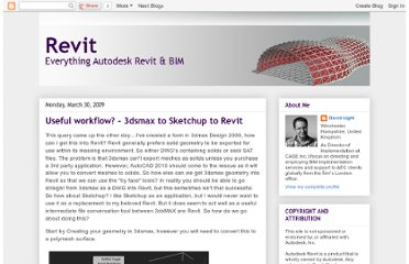 http://autodesk-revit.blogspot.com/2009/03/useful-workflow-3dsmax-to-sketchup-to.html