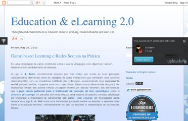 http://edulearning2.blogspot.com/2011/05/game-based-learning-e-redes-sociais-na.html
