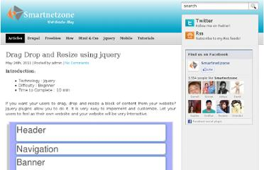 http://demo.smartnetzone.com/drag-drop-and-resize-using-jquery/