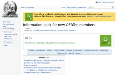 http://wikieducator.org/OER_university/Information_pack_for_new_OERTen_members