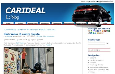 http://www.carideal.com/blog/index.php?post/2011/03/02/Dark-Vador-JR-contre-Toyota