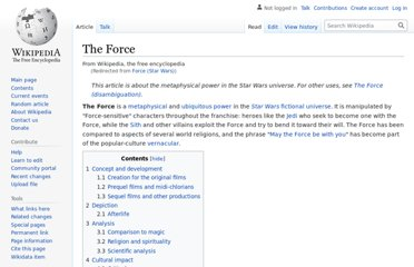 http://en.wikipedia.org/wiki/Force_%28Star_Wars%29