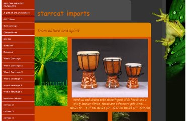 http://starrcatimports.com/drums.html